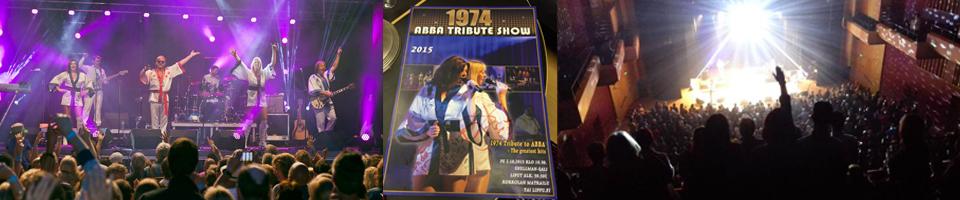 1974 ABBA SCANDINAVIA