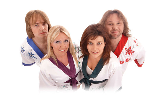 band members of 174 abba tribute show